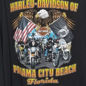 Harley Davidson 2 sided Panama City FL. Size 5 XL